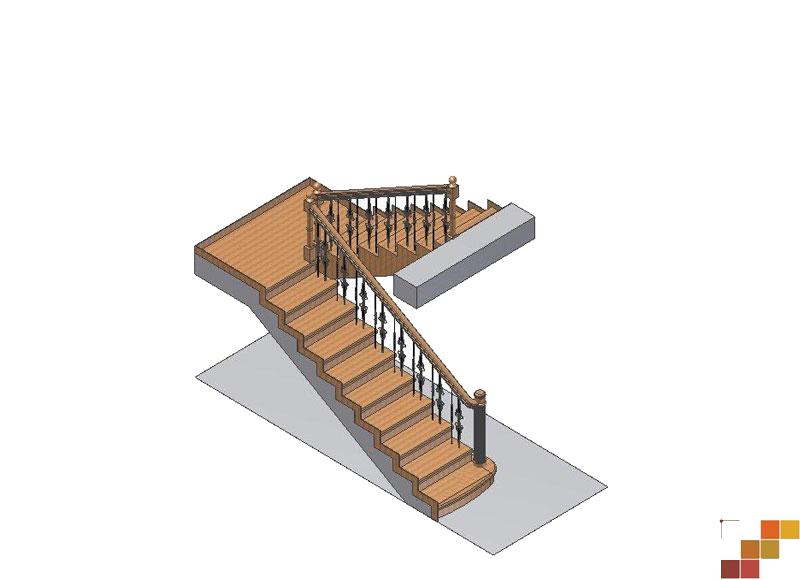 Деревянная лестница своими руками на 180 градусов фото 10