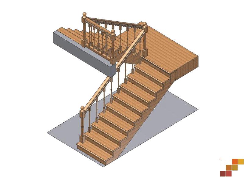 Деревянная лестница своими руками на 180 градусов фото 943