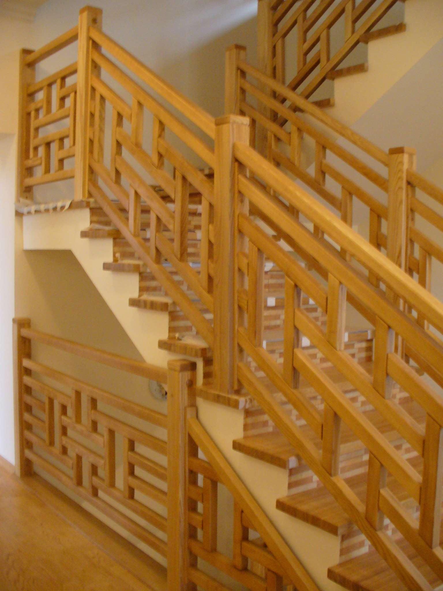 Перила для лестницы своими руками фото