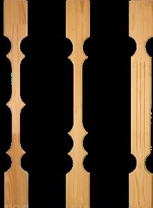 Резные столбы и балясины из дерева: продажа, цена в